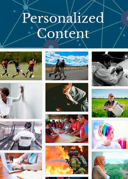 Start personalized content portrait
